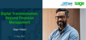 DIGITAL TRANSFORMATION: BEYOND FINANCIAL MANAGEMENT